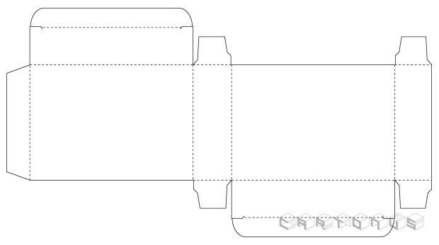 Base carton 106x25x75