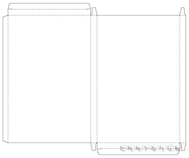 Base carton 130x10x200