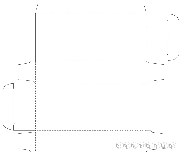 Base carton 53x25x126
