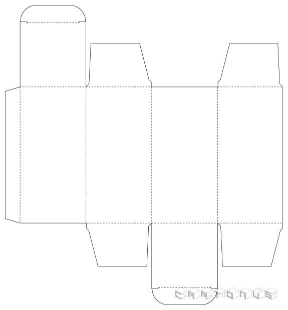 Base carton 53x53x110