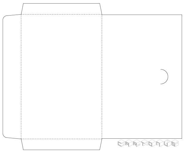 Paper envelope 170x110