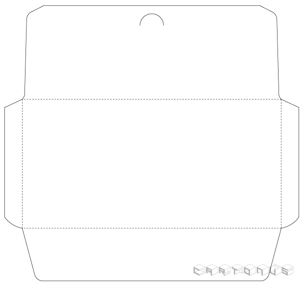 Paper envelope 220x110