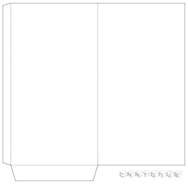 Paper envelope for money 110x205