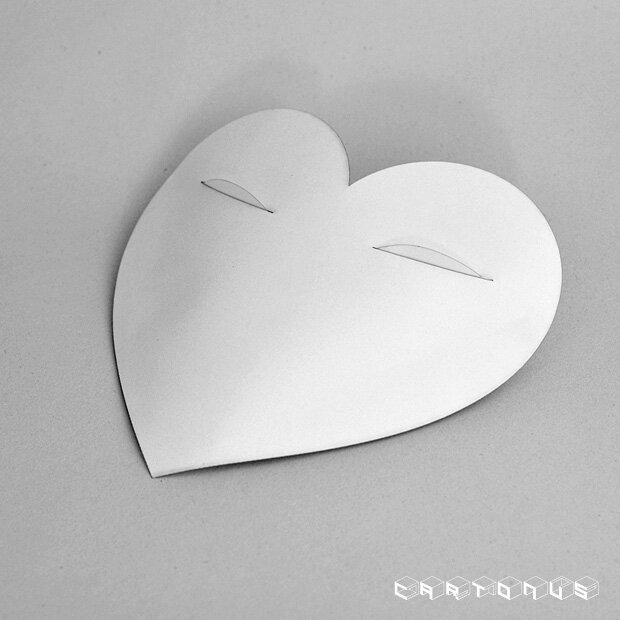 Gift carton Heart with eyes photo