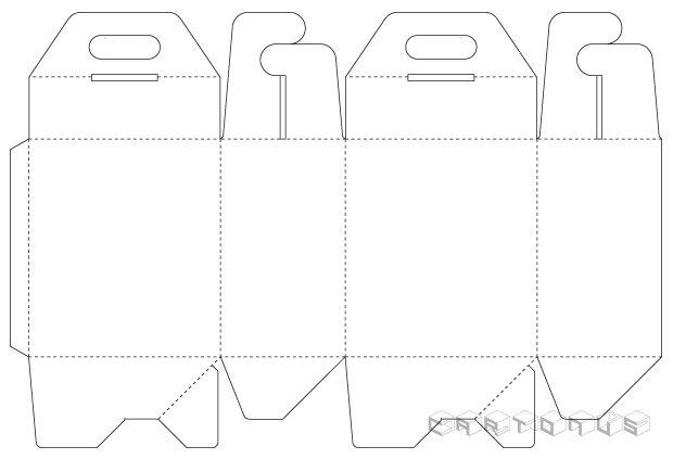 Handbag carton 145x95x165