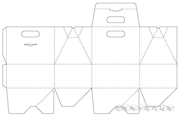Handbag House 160x125x205