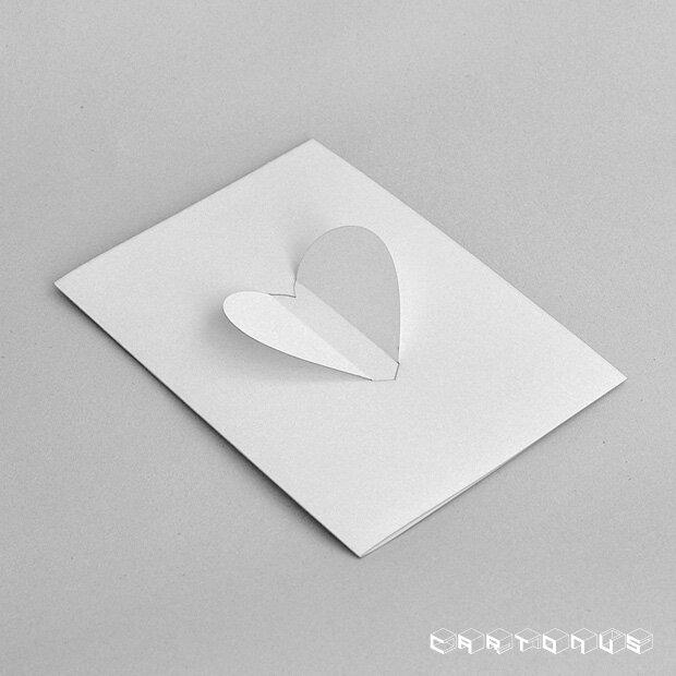 Heart card photo