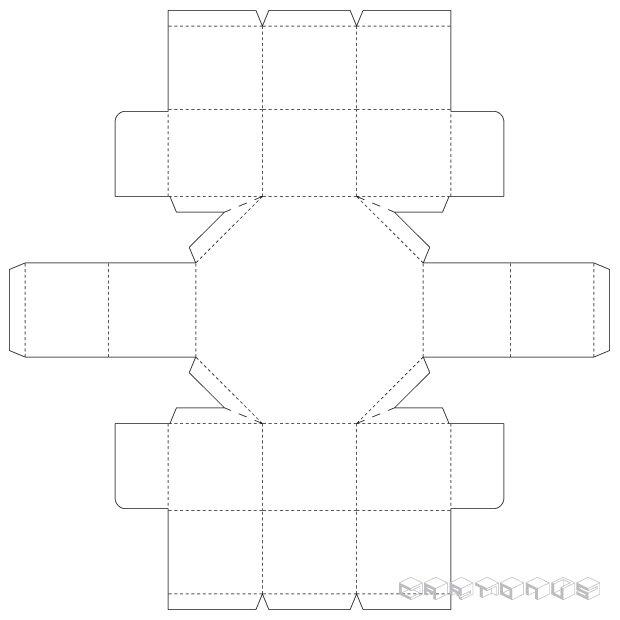 Octahedral 130x50