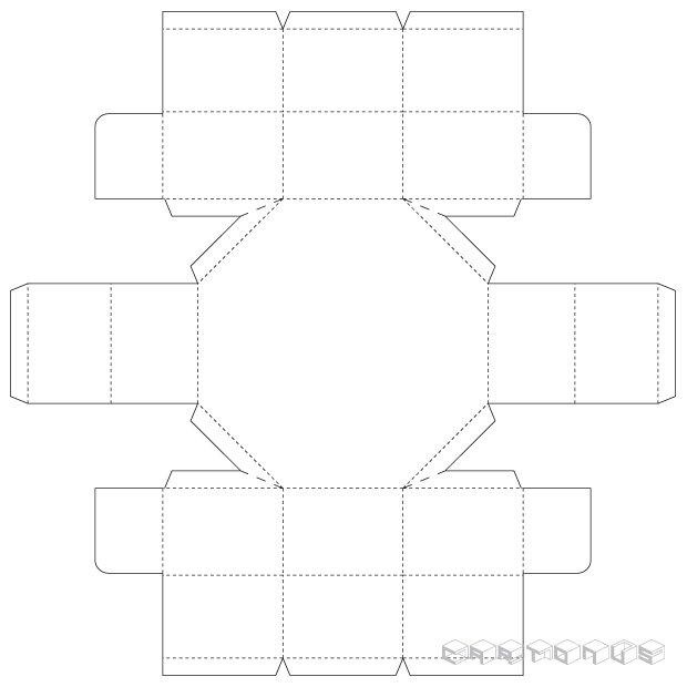 Octahedral 150x45