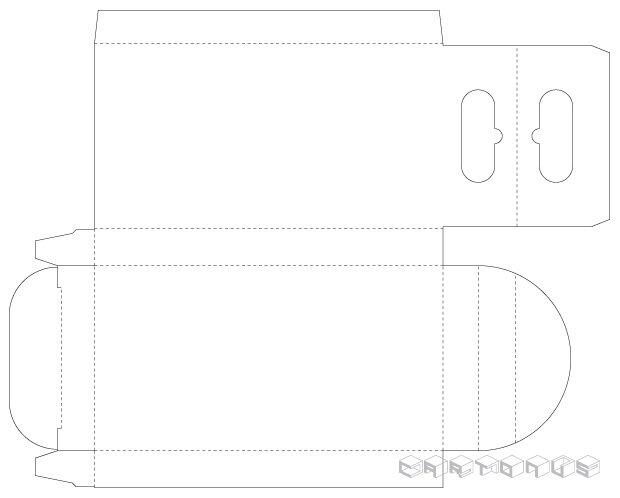 Pencil carton 50x10x94