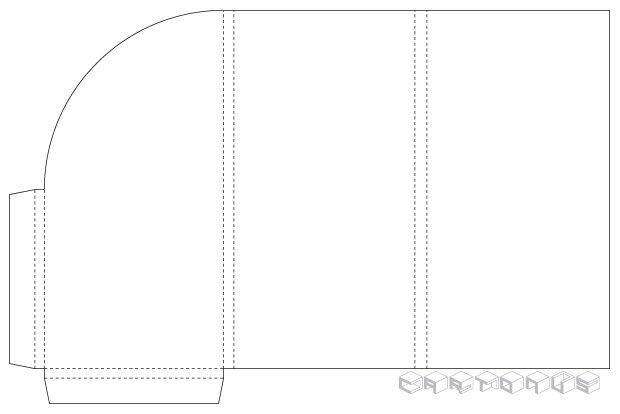 Pocket folder 106x210