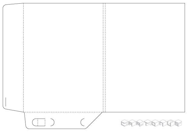 Pocket folder 219x300