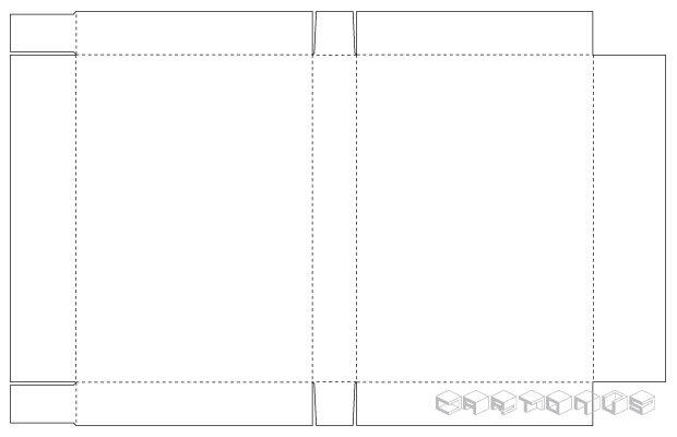 Rectangular carton 340x245x45