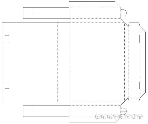 Tray and lid Case book 1