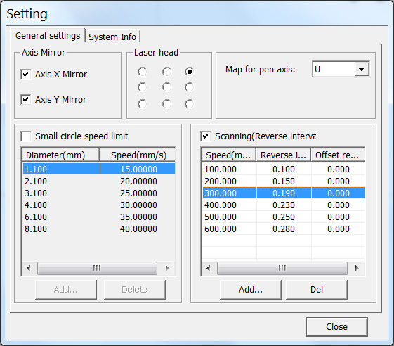 How to Improve Engraving Quality of Laser Machine. Reverse interval system setting RDWorks