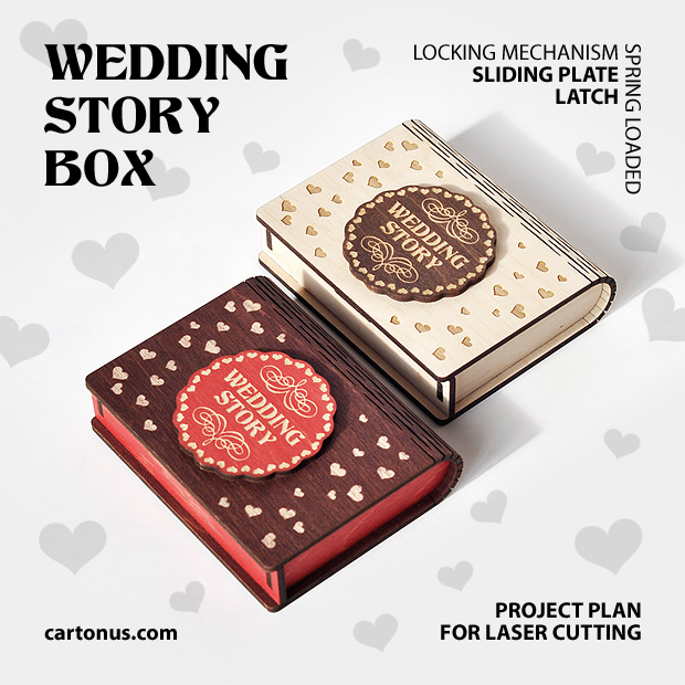 Wedding story 2 boxes