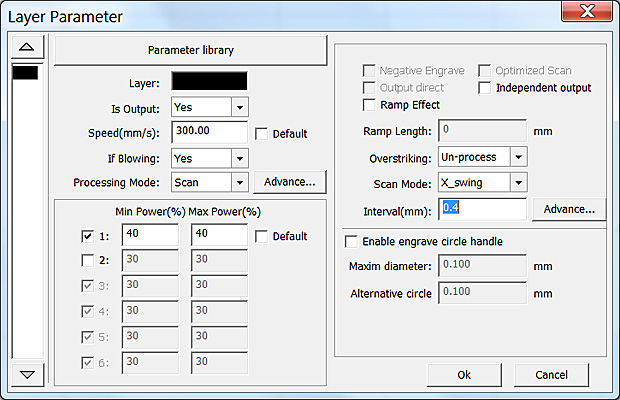 How to Improve Engraving Quality of Laser Machine. Layer parameter RDWorks