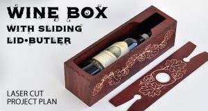 Wine box with sliding lid-butler featured image