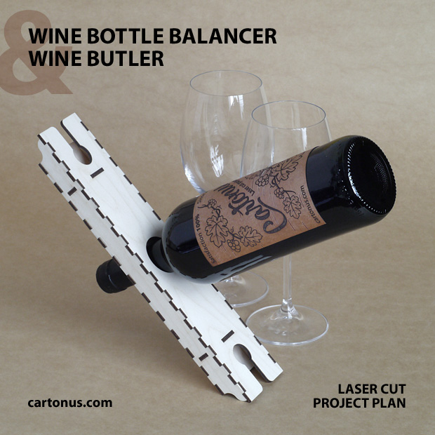 Balancing Bottle Holder and Wine Butler. Magischer Weinflaschenstander, magic Balance. Der Artikel ist ein sogenannter magischer Weinflaschenhalter, weil die Flasche zu schweben scheint.
