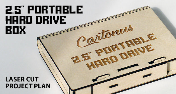Portable hard drive box. Featured image