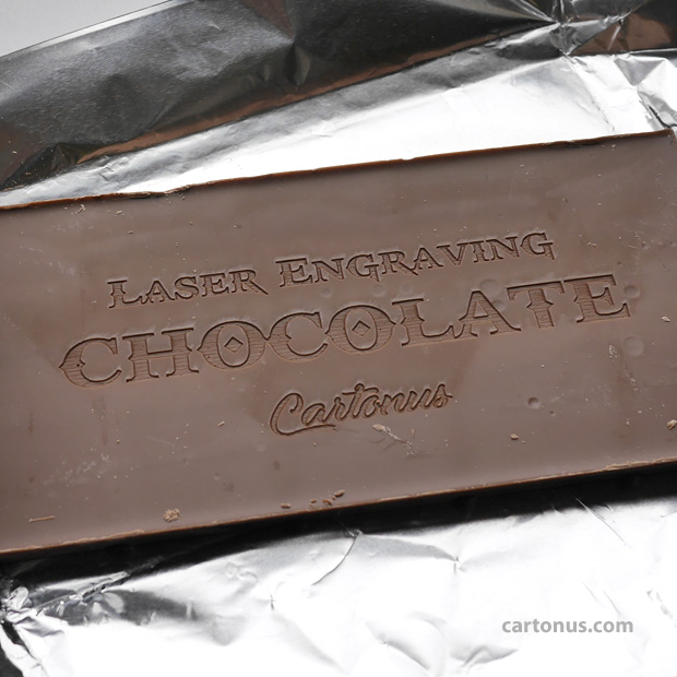 How-to: Laser engraving chocolate